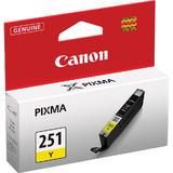Canon CLI-251 Yellow Original Ink Cartridge (6516B001)