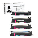 Samsung CLT-407S BK/C/M/Y New Compatible Toner Cartridge Combo Set - Moustache®