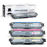 Brother TN-221/TN-225 New Compatible Toner Cartridge Combo Set Moustache®