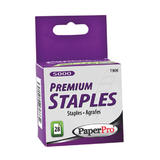 "PaperPro 1/4"" Extra Sharp Point Staples, 5000/box"