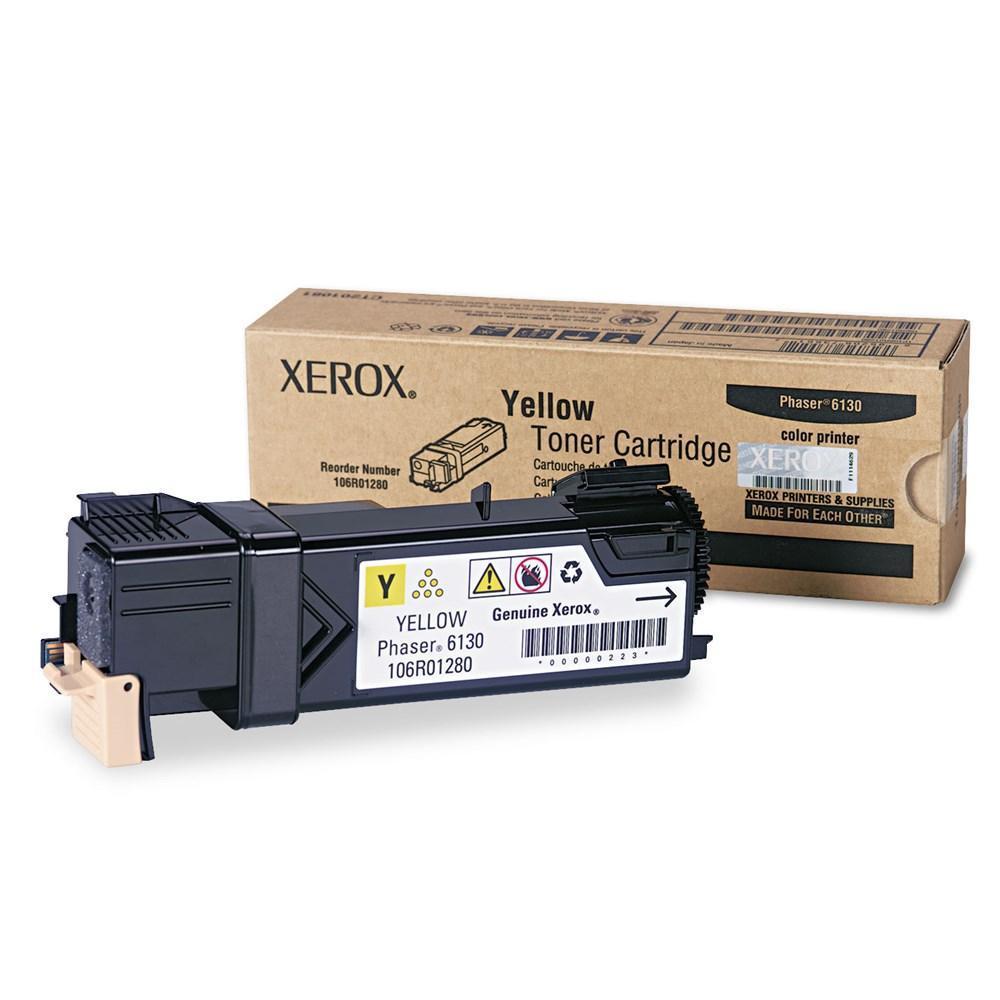 Xerox 106R01280 Original Yellow Toner Cartridge (Phaser 6130)
