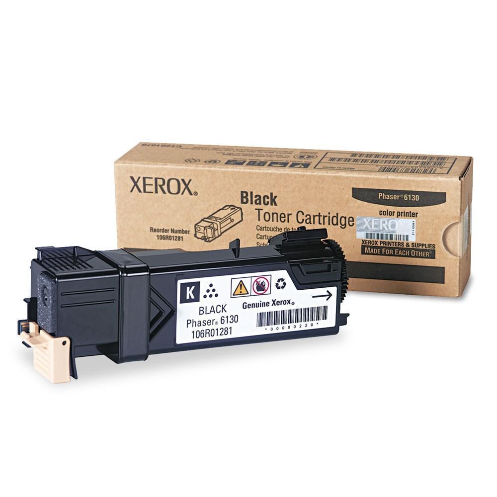 Xerox 106R01281 Original Black Toner Cartridge (Phaser 6130)