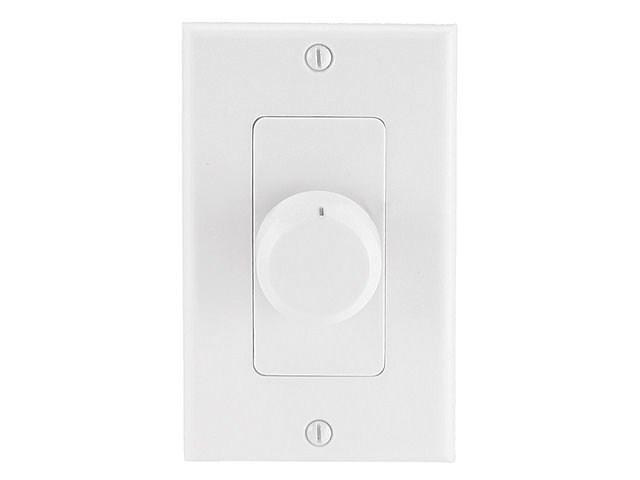 Speaker Volume Controller RMS 75W (Rotary Type) - White - Monoprice Cab-8242
