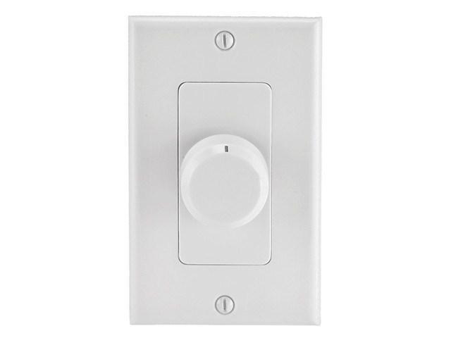 Speaker Volume Controller RMS 100W (Rotary Type) - White - Monoprice Cab-8243