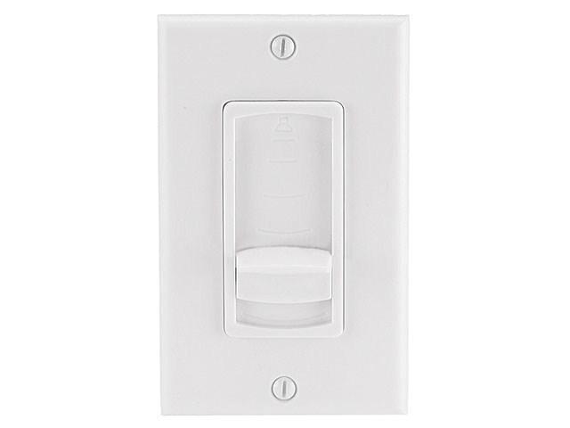 Speaker Volume Controller RMS 75W (Slide Type) - White - Monoprice Cab-8245