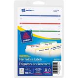 Avery® Permanent Laser/Inkjet File Folder Labels