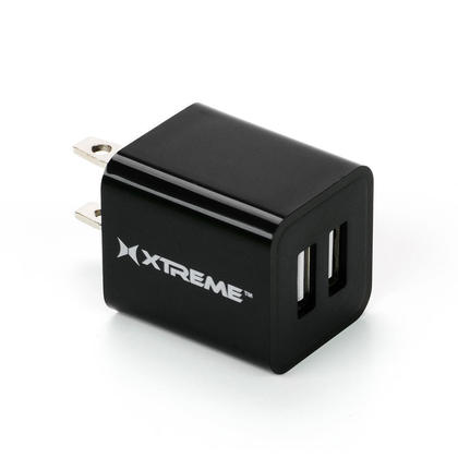xtreme 2 4amp dual usb ports home charger at phonegala canada. Black Bedroom Furniture Sets. Home Design Ideas