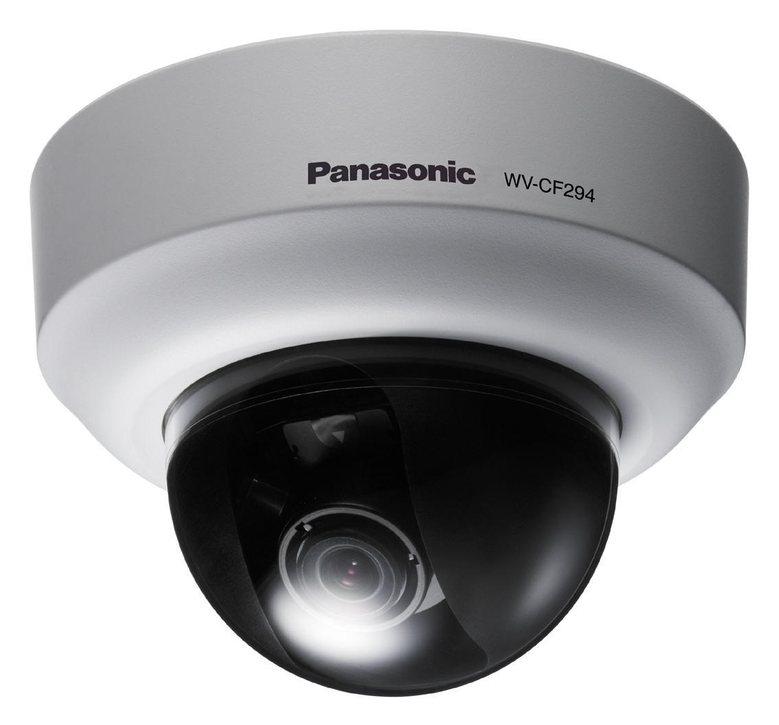 Panasonic Day/Night Fixed Dome Analog Security Internal Camera