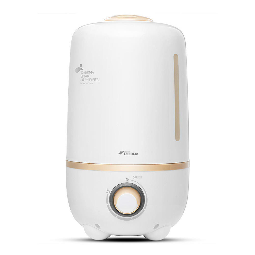 Deerma 4.0L Ultrasonic Cool Mist Humidifier Household bulk office air humidifier White GZA-00373