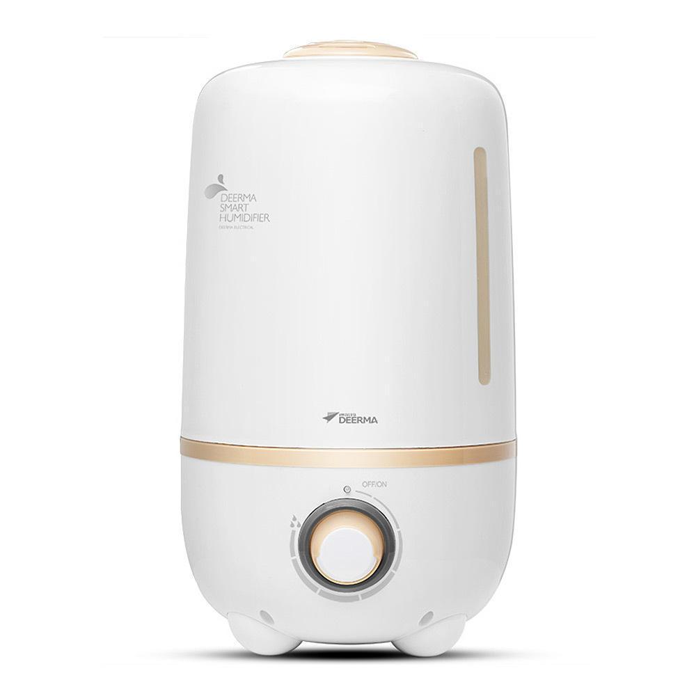 Deerma 4.0L Ultrasonic Cool Mist Humidifier Household bulk office air humidifier White
