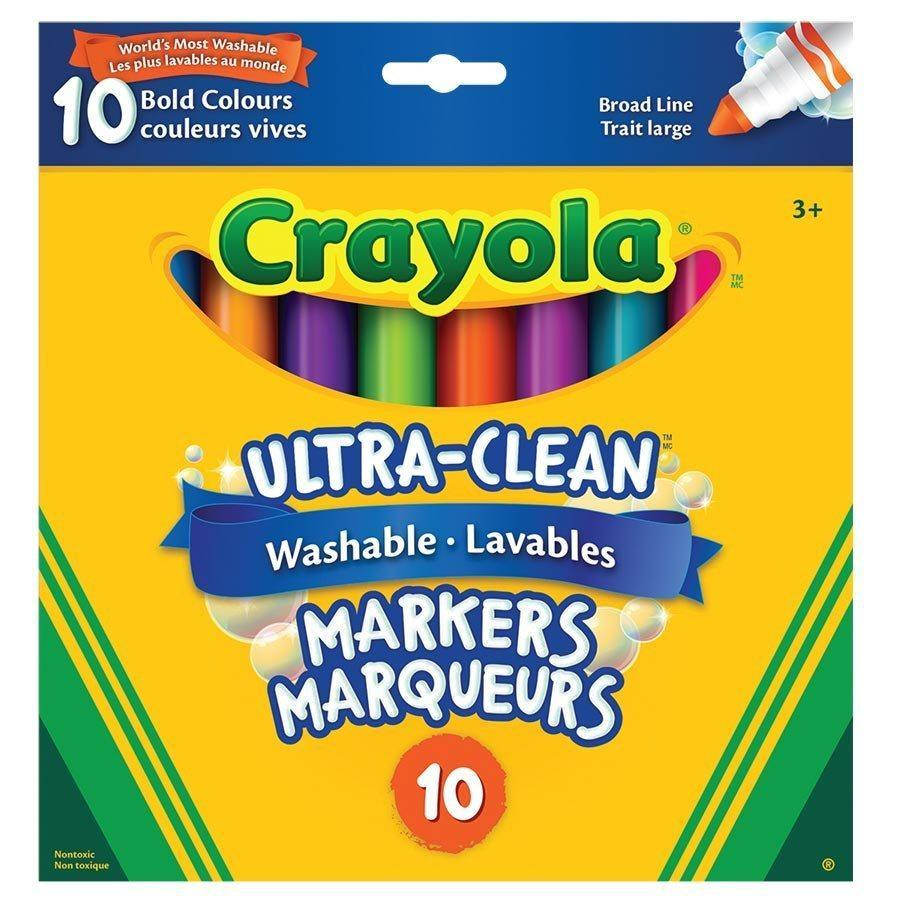 Crayola Ultra-Clean Washable Markers - Assorted Color 145-58-7810