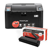 Pantum P2500W Monochrome Wireless Laser Printer with One PB-211 Toner