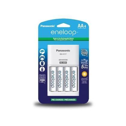 Panasonic Eneloop Charger W 4 Pack Aa 2100 Mah Ni Mh Pre