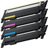 Samsung CLT-406S Series New Compatible Toner Cartridges Combo Set - Economical White Box