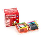 Canon PGI-5/CLI-8 New Compatible Ink Cartridges Value Pack - Economical Box