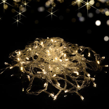 BLACK FRIDAY FREE SHIPPING, 100 LED multi-functional String Lights Indoor / Outdoor - 33FT