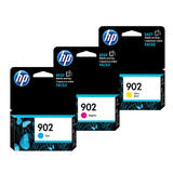 HP 902 C/M/Y Original Ink Cartridge Combo Set 3-Pack