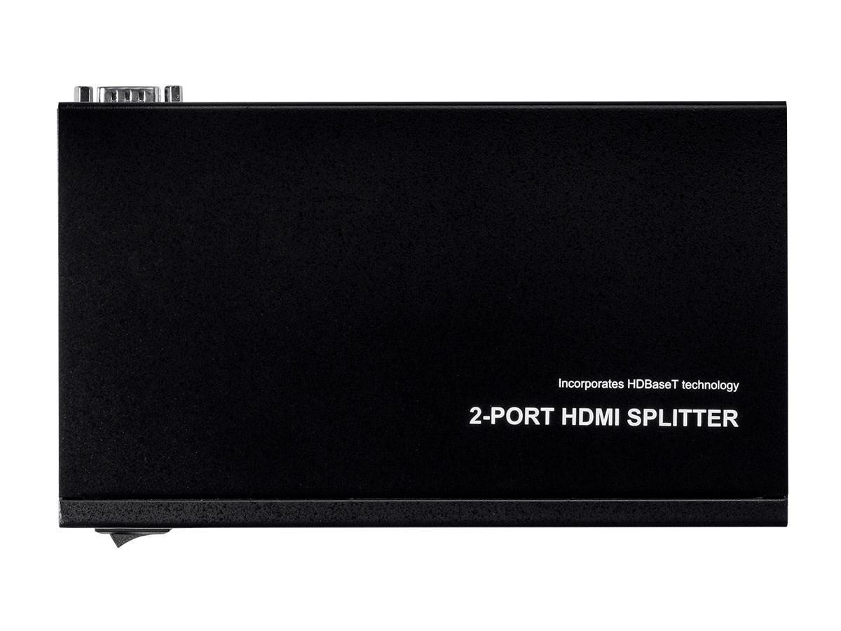 Blackbird 4K HDBaseT 1x2 Splitter, 100m