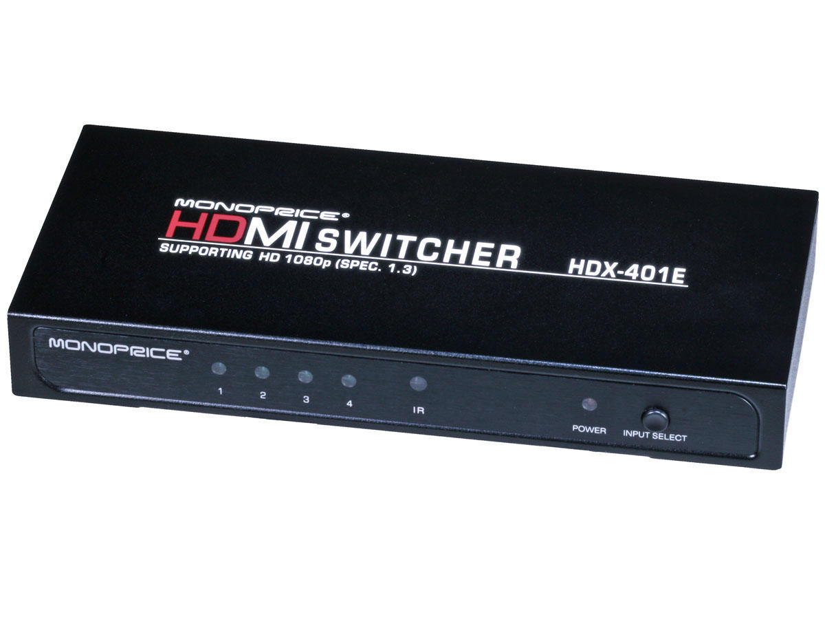 Blackbird 4X1 Enhanced HDMI Switch w/ Built-In Equalizer & Remote (REV.3.0)