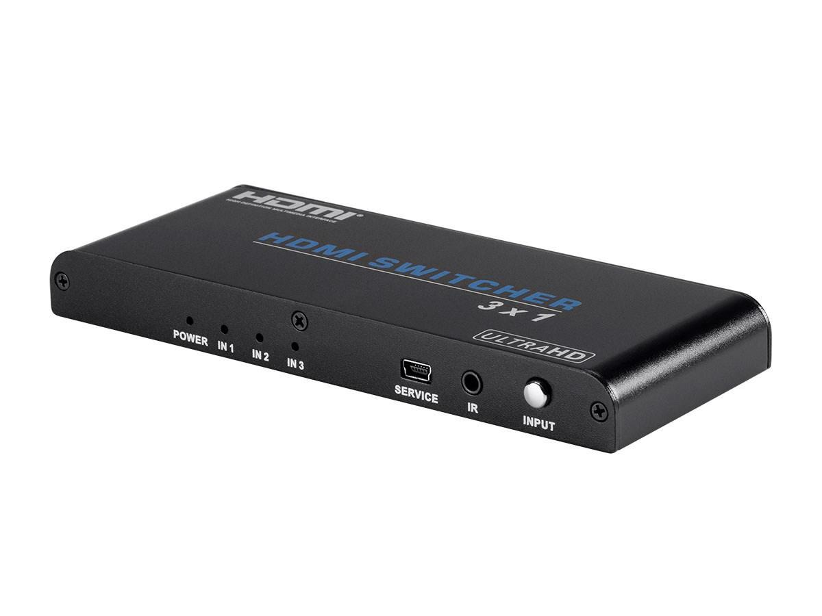 Blackbird 4K Pro 3x1 HDMI Switch with HDCP 2.2 Support