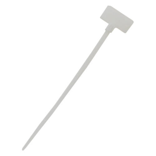 Cable Tie 4 Inch 18 LB - Flag Style UL94 V-2 Nylon 66