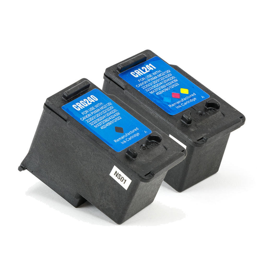 Canon PG-240 & CL-241 Remanufactured Ink Cartridge Combo Set PG240-CL241-Rem-Combo
