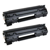 HP 83A New Compatible Black Toner Cartridge (CF283A) - Economical White Box