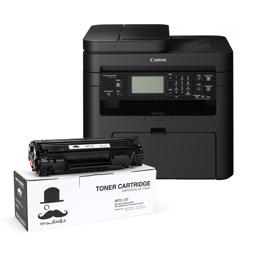 Laser multifunction printer get one canon 137 toner free buy canon
