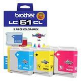 Brother LC513PKS Original Tri-color Ink Cartridges (Cyan/Magenta/Yellow)
