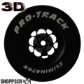 Pro Track Magnum Series CNC Drag Rears, 1 3/16 x .700, 3D, Black
