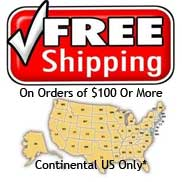 Free shipping on orders of $100 or more*