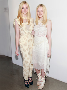 Shoptiques In Their DNA: Dakota and Elle Fanning