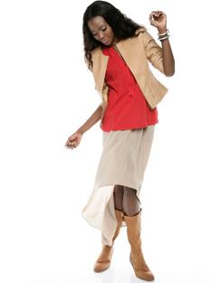 Shoptiques Chic 1-2-3: The Neutral Skirt