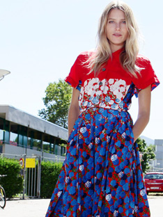 Shoptiques Frankly My Dear, We Don't Give a Damn: Floral Shirtdress
