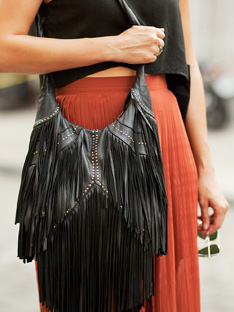 Shoptiques Frankly My Dear, We Don't Give a Damn: Fringe
