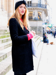 Shoptiques Paris Street Style: Wintery Mix