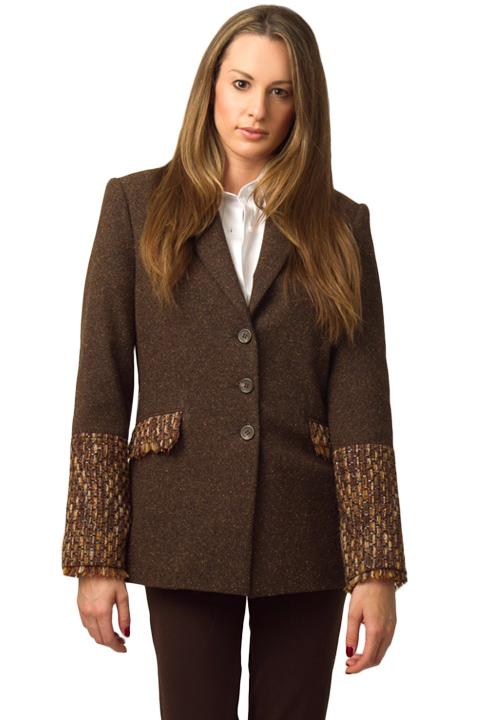 Shoptiques SlideShow Bouclette-Sleeve Jacket