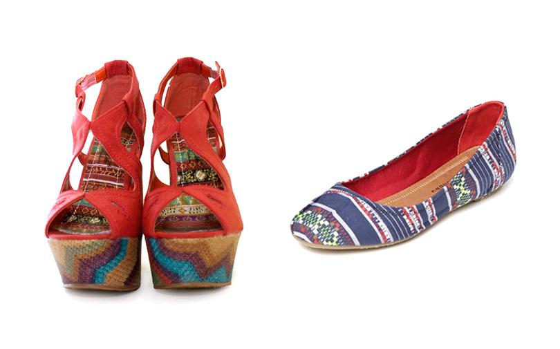 Shoptiques SlideShow Fancy Footwear