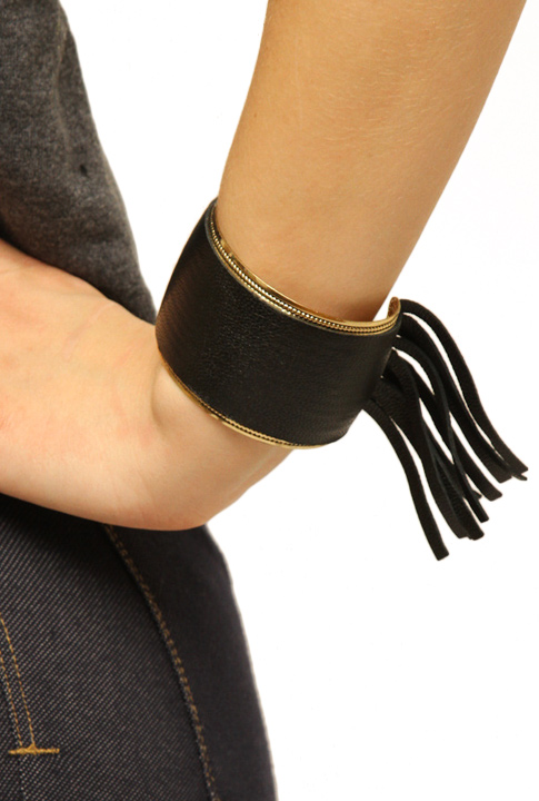 Shoptiques SlideShow Leather Cuff
