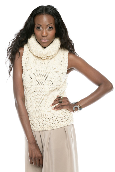 Shoptiques SlideShow Chunky Sleeveless Knit