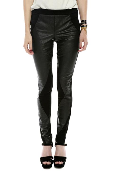 Shoptiques SlideShow Faux-Leather Pants