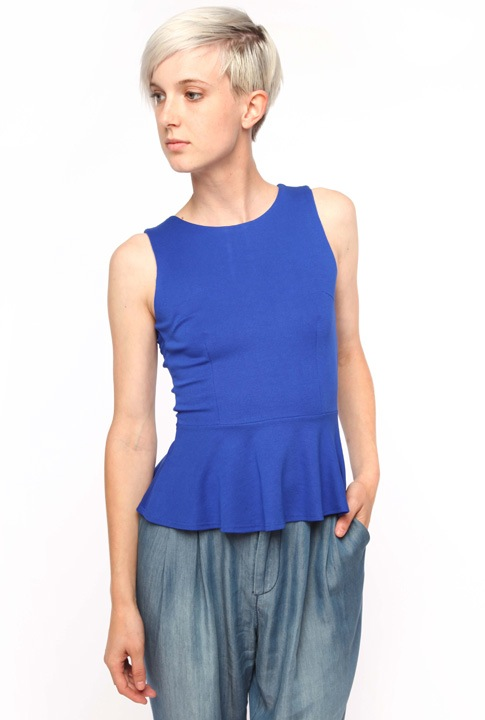 Shoptiques SlideShow Conceal a Tummy <br> ...with a peplum top