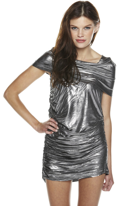Shoptiques SlideShow Metallic Mini