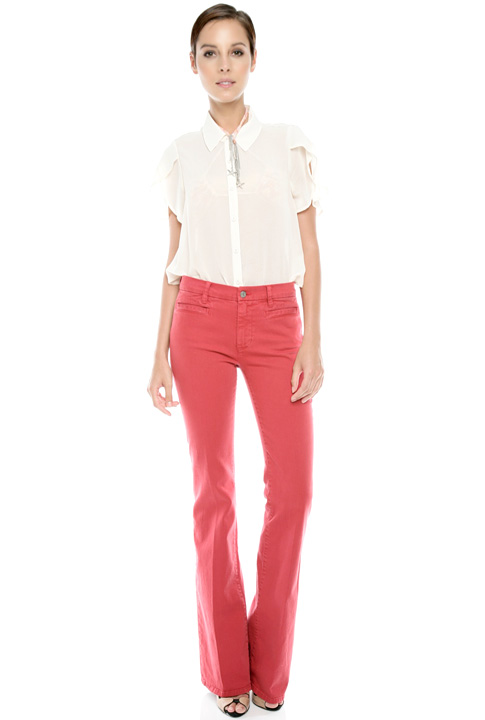 Shoptiques SlideShow Colored Flare Jeans