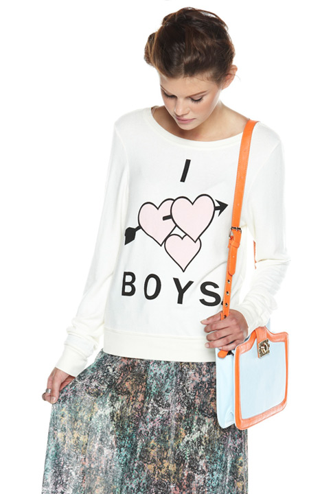 Shoptiques SlideShow I Heart Boys Sweatshirt