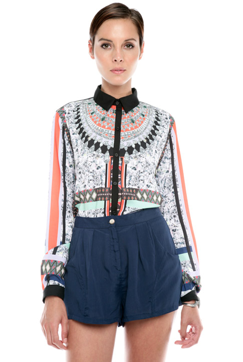 Shoptiques SlideShow Très Awesome's Picks: <br>A Printed Blouse