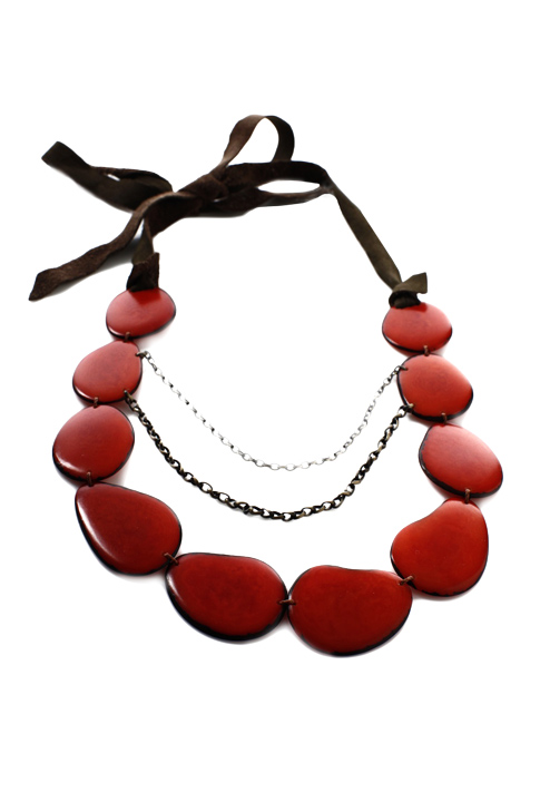 Shoptiques SlideShow Tagua Nut Necklace