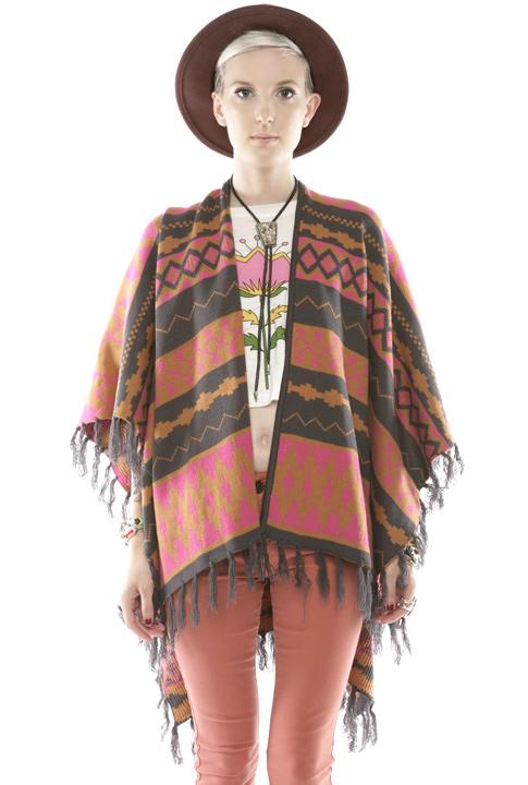 Shoptiques SlideShow Navajo Poncho