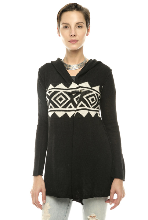 Shoptiques SlideShow Aztec-Print Sweater