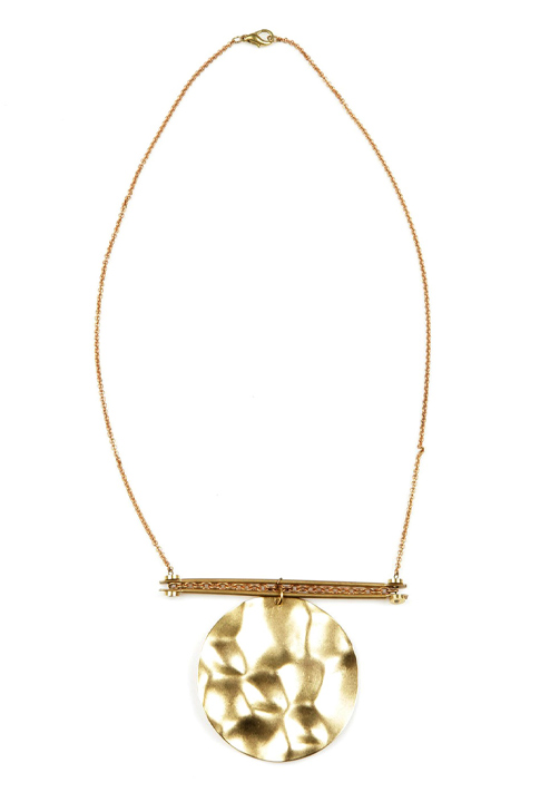 Shoptiques SlideShow Handmade Brass Necklace